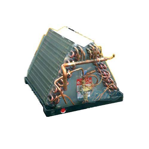 AC evaporator coil inside furnace plenum from alpinehomeair.com