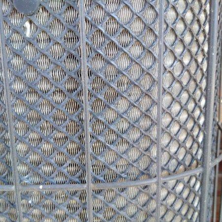 Exterior Air Conditioner close up look