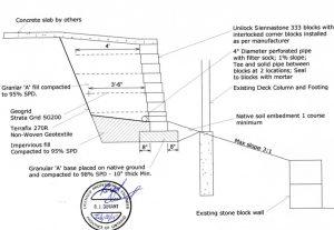 engineering-drawing-retaining-wall
